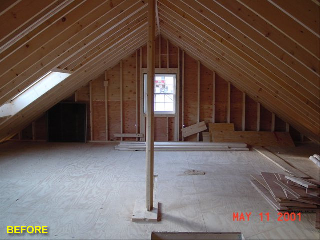 Attics Advantage Remodeling Construction Carpentry