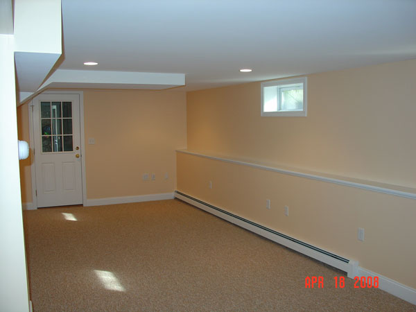 Basements Advantage Remodeling Construction Carpentry Mesmerizing Basement Remodeling Boston