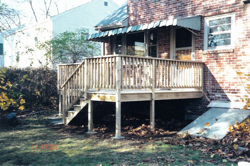 boston deck construction